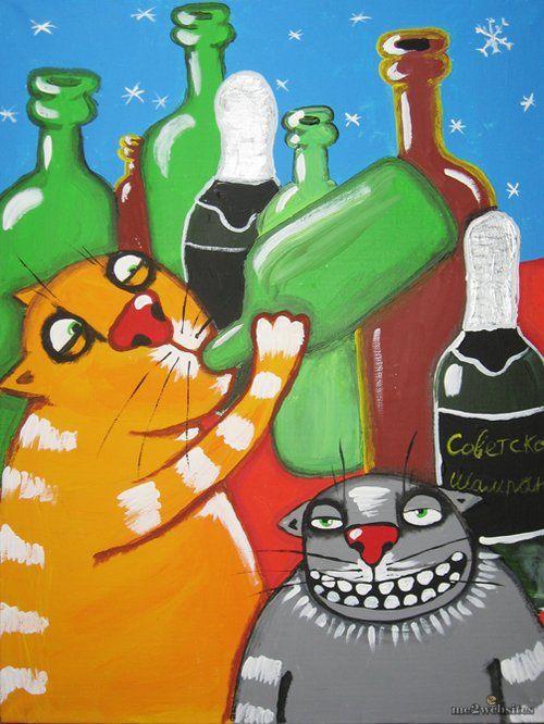 Орієнтир для братів менших: Календарик для кота від Васі Ложкіна
