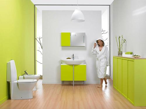 Spring Bath Decor – весняна ванна кімната від Sanindusa. Ідеї для дизайну інтер'єрів